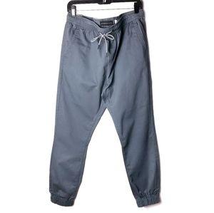 Aeropostale medium blue gray jogger chinos